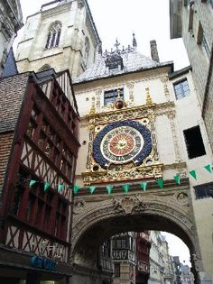 Rouen...Joan of Arc meets her unfortunate end but the scenery is sooo worth it ;)