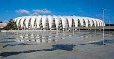 hype studio revamps beira-rio stadium in porto alegre for world cup - designboom | architecture