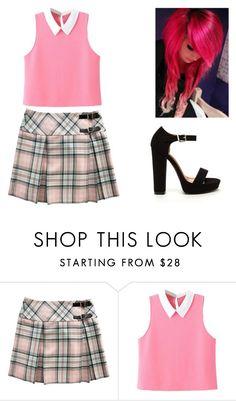 """""""Untitled #380"""" by saira-gzz ❤ liked on Polyvore featuring WithChic"""