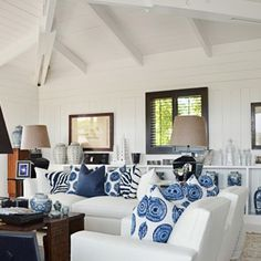 Blue and white done right