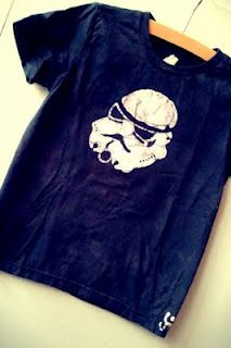 Darth Vader tee for kiddos