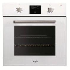 WHIRLPOOL - AKZ483WH _ Four Pyrolyse 60 L - 12 modes de cuisson dont Maintien au chaud et Extra dorage - Programmateur électronique avec préconisation de température - Pyrolyse Express - Eclairage halogène - Contre-porte plein verre - Porte tempérée avec verres démontables - Tournebroche. Four Pyrolyse, Wall Oven, Kitchen Appliances, Home, Solid Doors, Drinkware, Childproofing, Diy Kitchen Appliances, Home Appliances