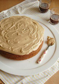 Maple cake / Bolo de xarope de bordo - Technicolor kitchen