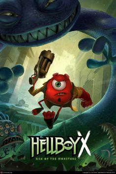 Monsters Inc./Hellboy