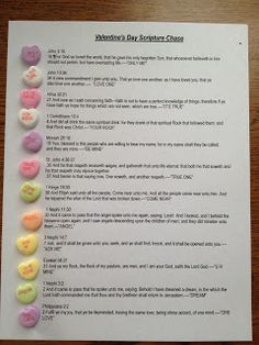 LDS Scripture Chase with Conversational Hearts