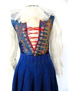 Traditional Slovakian Costume, ca. 1930-1950