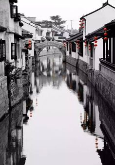 China picturesque Towns and Villages posted by Sifu Derek Frearson China Architecture, Ancient Chinese Architecture, Gothic Architecture, Chinese Landscape, Chinese Garden, Chinese Painting, Chinese Art, Chinese Style, Art Et Nature