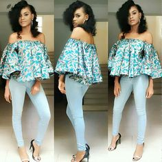 Collection of the most beautiful and stylish ankara peplum tops of 2018 every lady must have. See these latest stylish ankara peplum tops that'll make you stun African Print Dresses, African Print Fashion, Africa Fashion, African Fashion Dresses, African Dress, Fashion Outfits, African Prints, African Tops, African Women