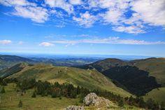 Depuis Pailhères, vue vers le Pla de Sault #Ariège (photo : Jack)