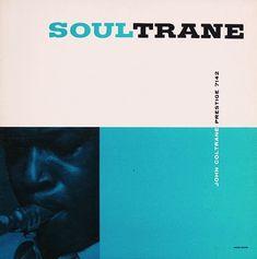 John Coltrane / Prestige - vintage jazz album cover