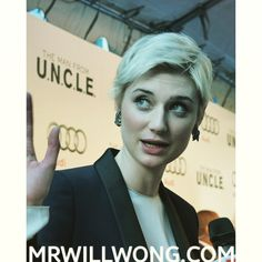 #ElizabethDebicki at the Toronto Premiere for #ManFromUNCLE.