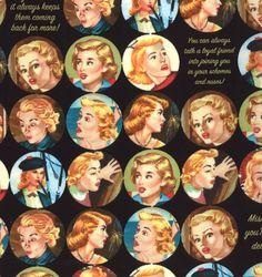 Nancy Drew fabric?!