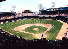 Old Tiger Stadium, located on 'The Corner' of Trumbull and Michigan Avenue. What a great icon of the city that holds a dear place in many a Michigander's heart.