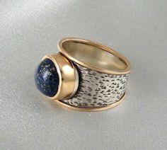 Lapis Ring by maryajewelry on Etsy,   Básico de orfebreía