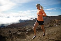 RUN above the clouds #ROXYOutdoorFitness @Gillian Gibree