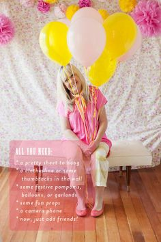 summer up: diy party photo booth.
