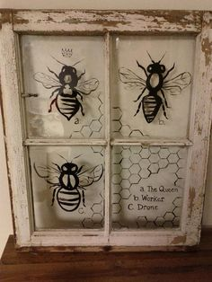 A Study Of Bees. $115.00, via Etsy.