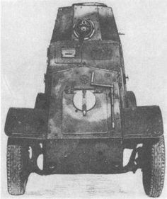 Wz.29 Ursus - Polish armoured car, pin by Paolo Marzioli
