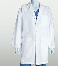Grey's Anatomy 5 Pocket Lab Coat 0914XL Greys Anatomy Men, Greys Anatomy Scrubs, Grey's Anatomy, White Lab Coat, Lab Coats, French Seam, Collars, Pocket, Cotton