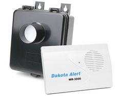 Dakota Alert WMA-3000 Wireless Motion Alert 3000 Driveway Alarm $103