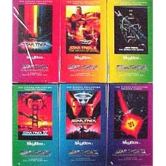 Star Trek Cinema - 432 Rare Trading Cards Set in 6 Sealed Boxes #store51com