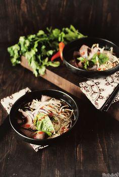 Beef pho. Vietnamese food