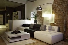 How to get more creative with your lighting at home. Instead of built-in overhead lights, use different lights to add to your home decor and add accent lighting.