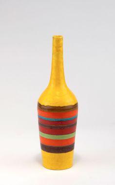 Guido Gambone; Glazed Earthenware Vase, 1950s.
