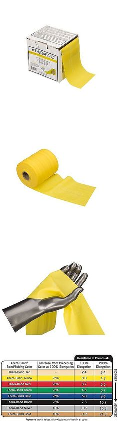 Resistance Trainers 79759: Theraband Professional Non-Latex Resistance Band, Thin Yellow Beginner Band For -> BUY IT NOW ONLY: $50.46 on eBay!
