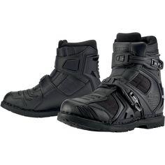 Sale on Icon Field Armor 2 Men's On-Road Motorcycle Boots 2013 - Motorhelmets