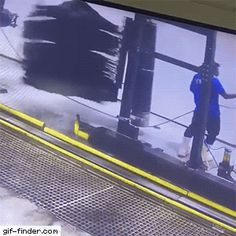 Car Wash Takes Employee for Spinny Ride