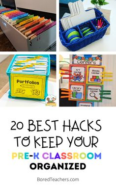 20 Best Hacks To Keep Your Pre-K Classroom Organized Classroom Organization, Organization Hacks, Calm Down Kit, Calm Down Corner, Drawer Labels, Center Labels, Pre K Pages, Alphabet Templates, Social Skills Activities