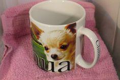 America Ware Chihuahua 3D Coffee Mug Large 18oz Raised Lettering