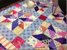 Another beautiful Bonnie Hunter scrap quilt.