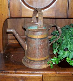 Antique Watering Can - Ruby Lane