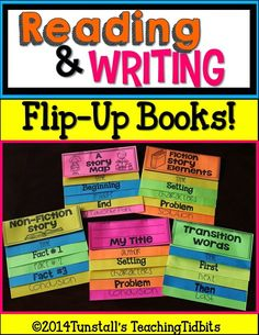 reading response, writer's workshop, work on writing flip books