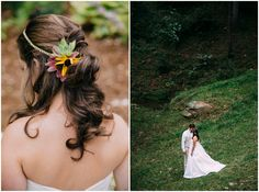 Bridal Flowers In Hair