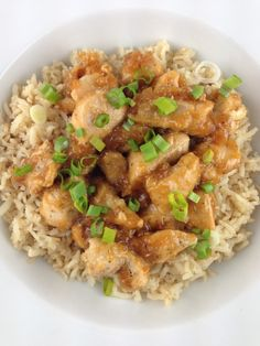 Light Orange Chicken Recipe - 4 Points + - LaaLoosh
