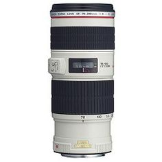 Canon EF 70-200mm f/4L IS USM with Case and Hood USA Warranty