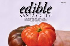 I have been volunteering my skills to edible Kansas City magazine for the past couple of issues as a copy editor and contributing author.  This free publication promotes KC's local, sustainable food economy.  We have a supportive readership (10K copies of our quarterly magazine were scooped up in 3 weeks) but are not generating enough revenue to sustain the publication.  Right now, eKC needs a boost. Please check out our current fundraising campaign by following the link below.