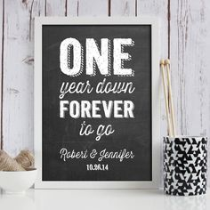 1 Year Wedding Anniversary Picture Ideas : Year anniversary gifts, Five year anniversary and Anniversary gifts on ...