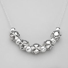 Necklace With Genuine Crystals Wonderful necklace with genuine crystals well made of 925 sterling silver. Total item weight 13.3g. Length 16inch. Gemstone info: crystal with round shape and white color.