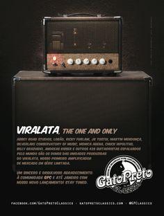 "Ad 10 - Guitar Player Magazine - Dec/13 - Who: Viralata (Gato Preto Classics) - Campaign: ""Inclusão Valvulada"""