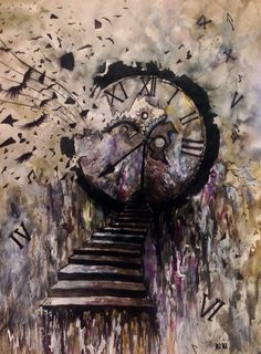 Bianca Paraschiv Drawings  Gothic-Steampunk painting