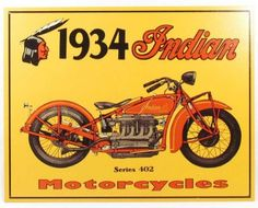 Indian Motorcycles motors vintage advertising plates posters denim jeans authentic freelancer LONG JOHN (2)