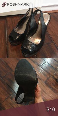 2b Bebe size 7 Good condition 2B Bebe Shoes Heels