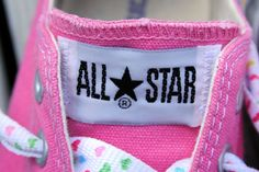 All Star #shoes #pink