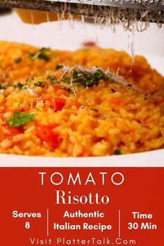 Italian Recipes, Crockpot Recipes, Chicken Recipes, Healthy Recipes, Delicious Recipes, Easy Recipes, Recipe 30, Recipe For Mom, How To Make Risotto