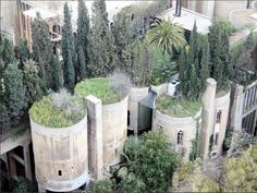 A cement factory renovated and used by Ricardo Bofill.
