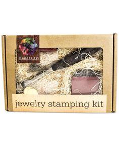 MakersKit Diy Jewelry Stamping Kit